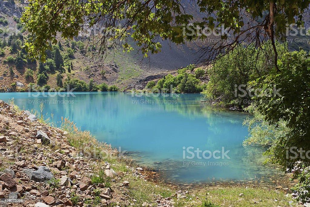 Lake Pairon stock photo