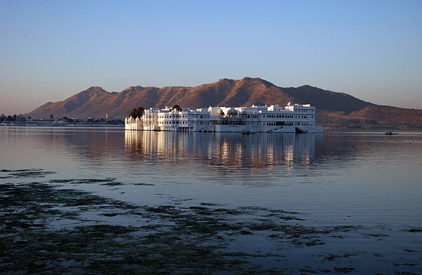Lake Palace stock photo