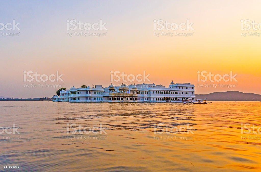 Lake Palace, Udaipur Rajasthan stock photo