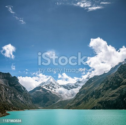 Lake Paron In The Andes, Peru