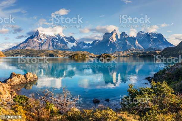Photo of Lake Pehoe, Torres Del Paine, Patagonia, Chile