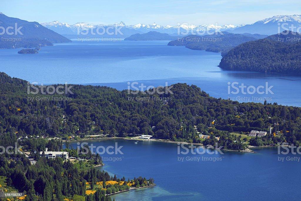 Lake Perito Moreno, Bariloche, Argentina royalty-free stock photo