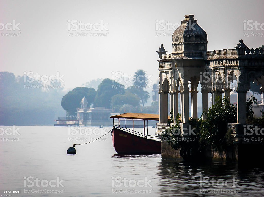 lake pichola Udaipur stock photo