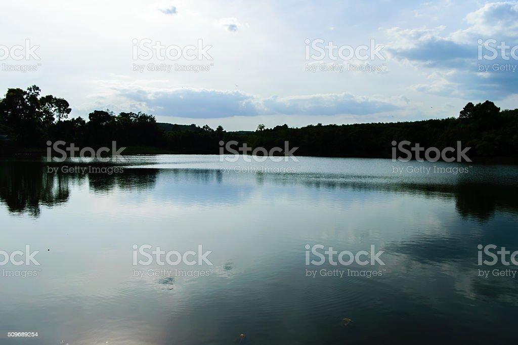湖 ストックフォト