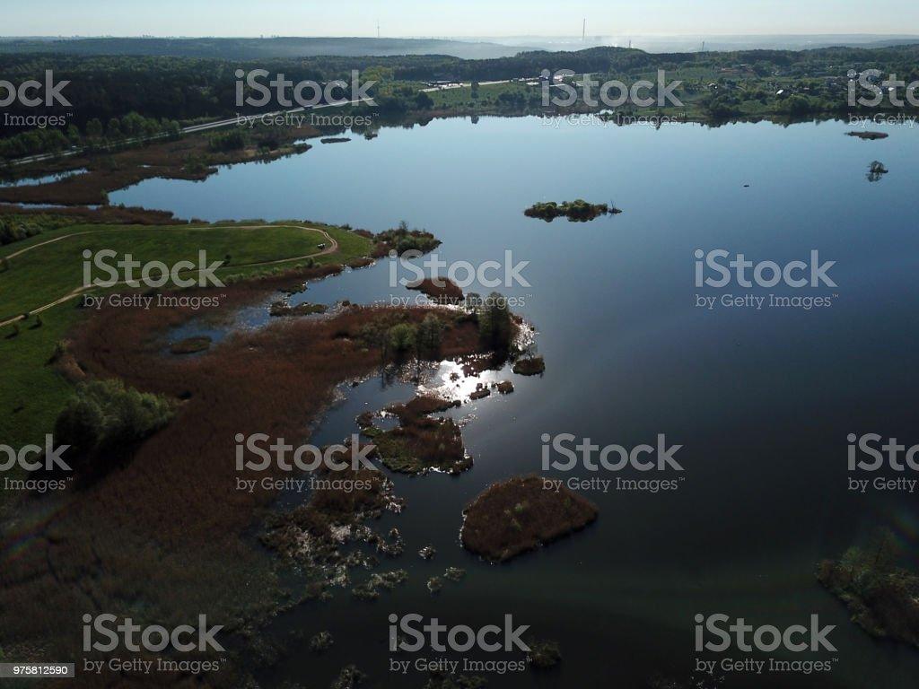 See lake  - Lizenzfrei Baum Stock-Foto