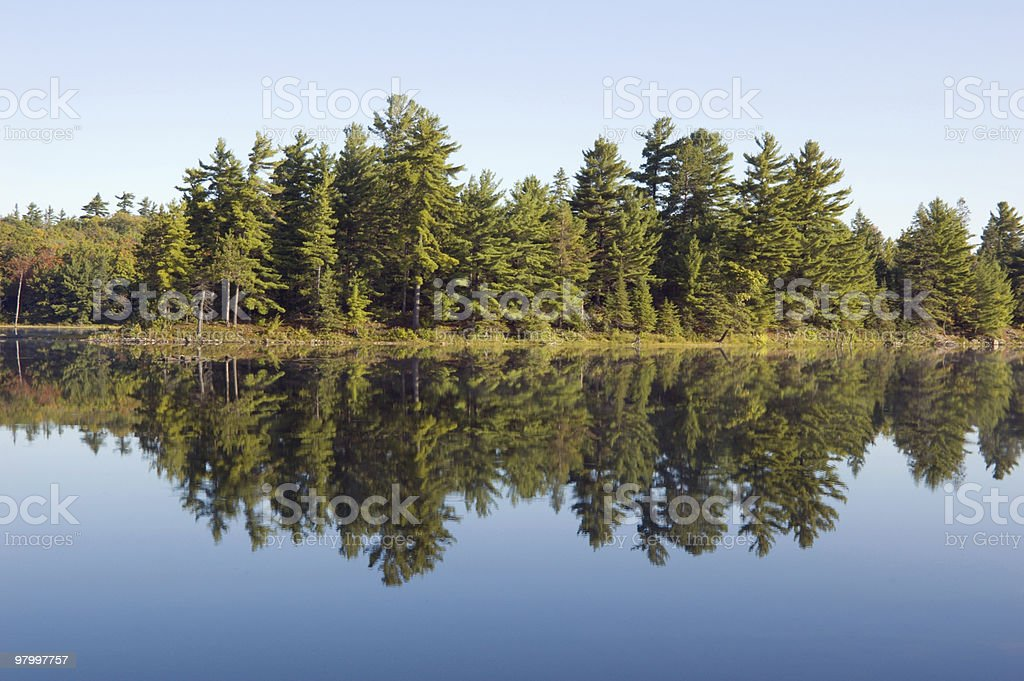 Lake royalty-free stock photo