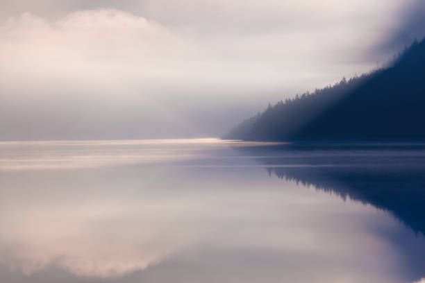 lake plansee am Morgen – Foto