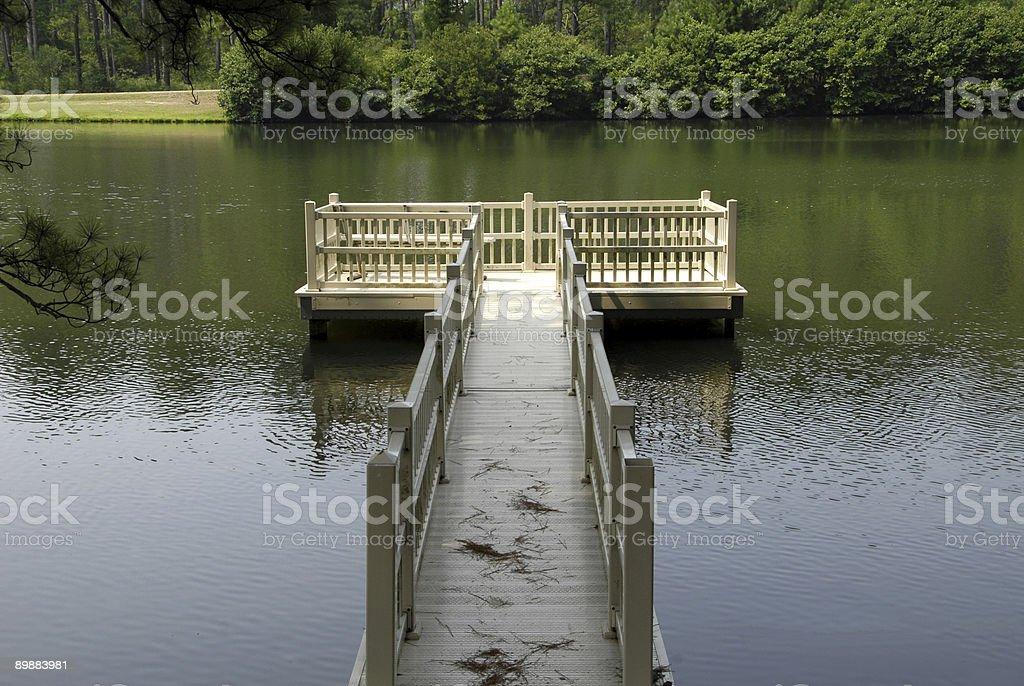 Lago plataforma foto de stock libre de derechos