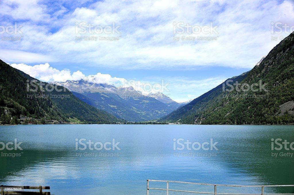 Lago Di Poschiavo royalty-free stock photo