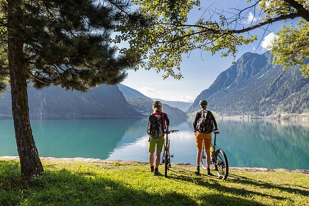 Lake Poschiavo Ausblick, Schweiz – Foto