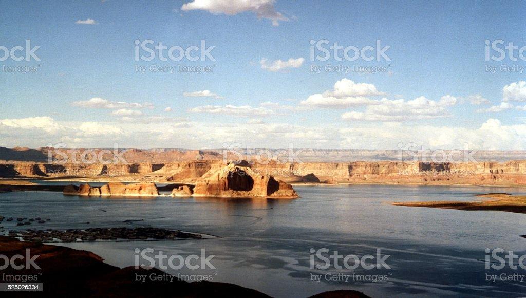 Lake Powell landscape, Arizona-Utah, United States stock photo