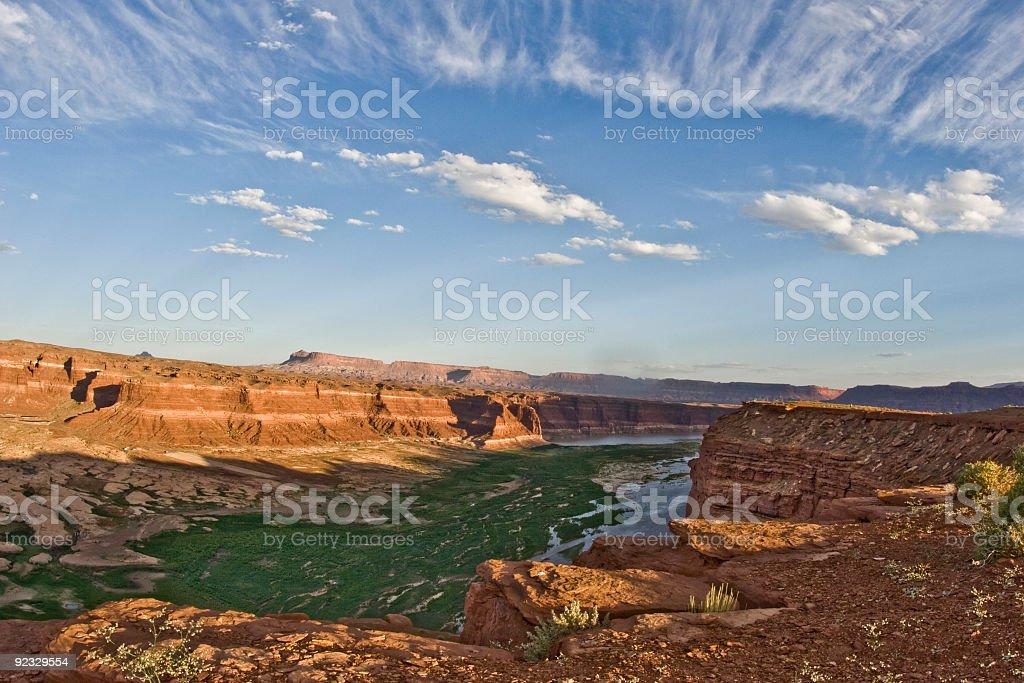 Lake Powell landscape stock photo
