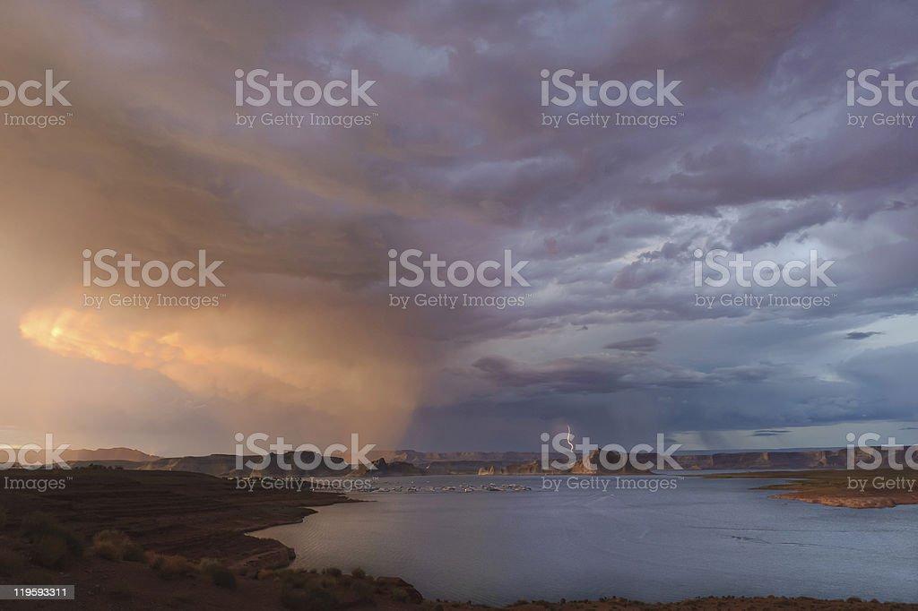 Lake Powell stock photo