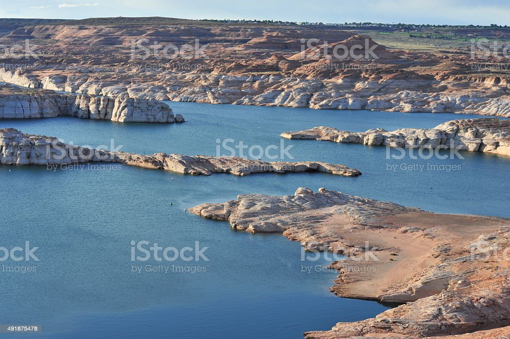 Lake Powell stock photo