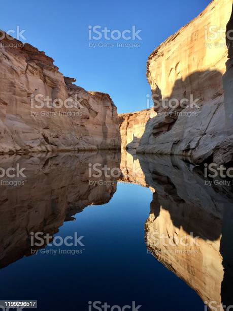 Lake Powell Reflection Stock Photo - Download Image Now