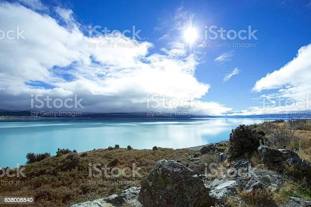 Photo of Lake Pukaki On A Shiny Day