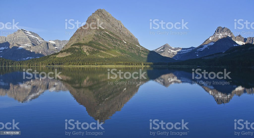 Lake Reflections royalty-free stock photo