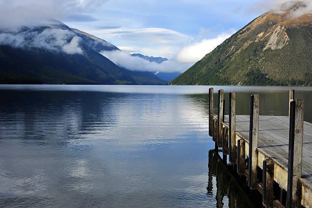 Lake Rotoiti stock photo