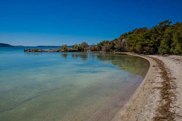 Lake Rotorua stock photo