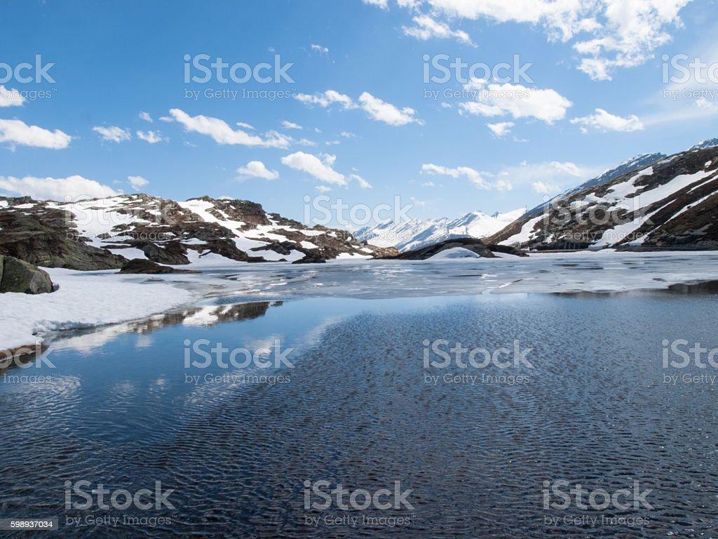 Lake San Bernardino stock photo