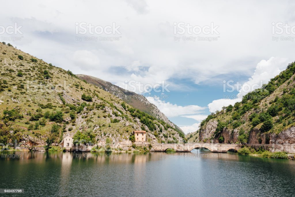 Lago Di San Domenico Abruzzo Italy Stock Photo & More Pictures of ...