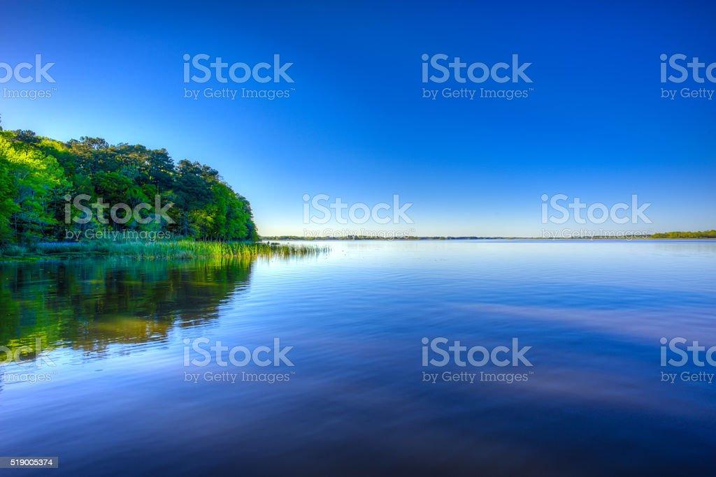 Lake Seminole stock photo