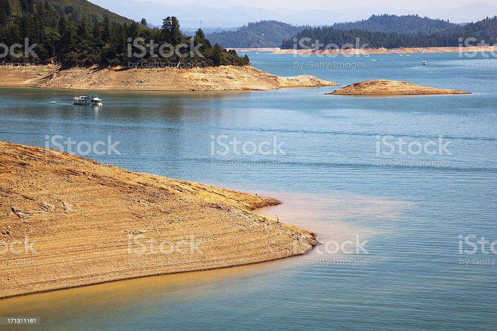 Lake Shasta stock photo