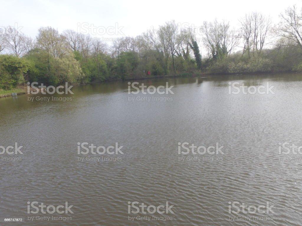 Lake side foto stock royalty-free
