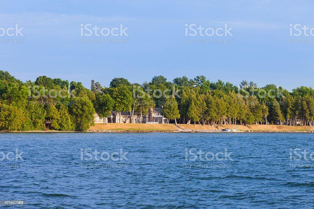 Lake Simcoe, Ontario, Canada stock photo