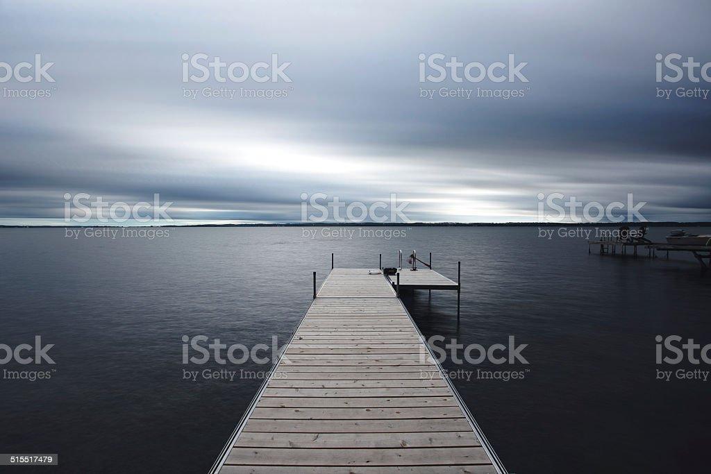 Lake Simcoe stock photo