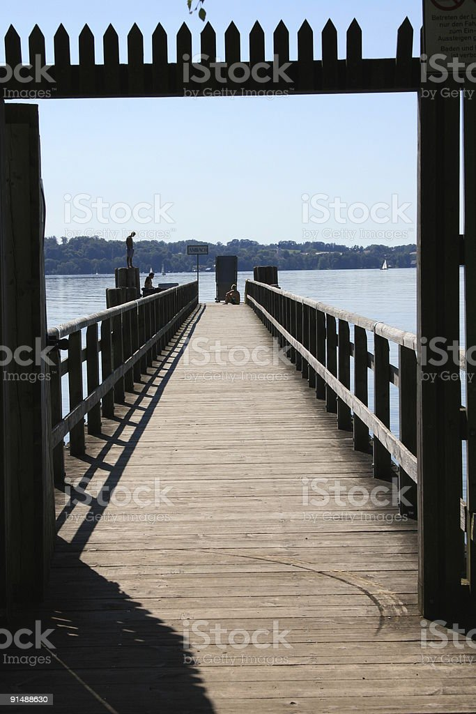 Starnberger See royalty-free stock photo