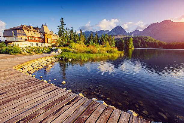 Lac Strbske pleso - Photo