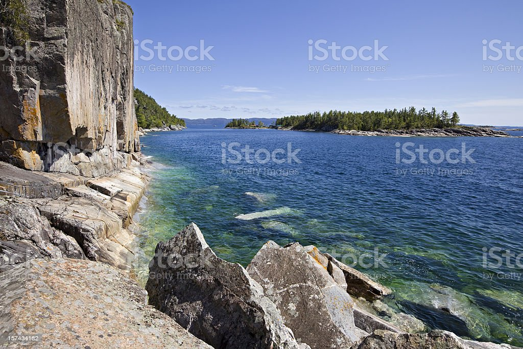 Lake Superior, Ontario, Canada stock photo