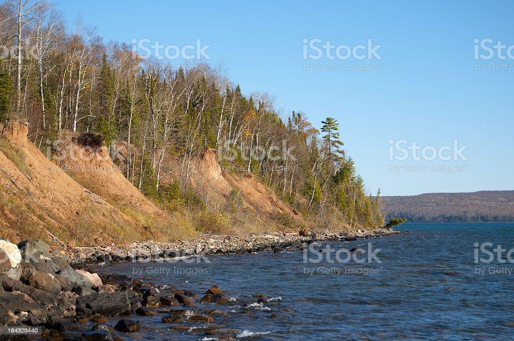 Lake Superior royalty-free stock photo