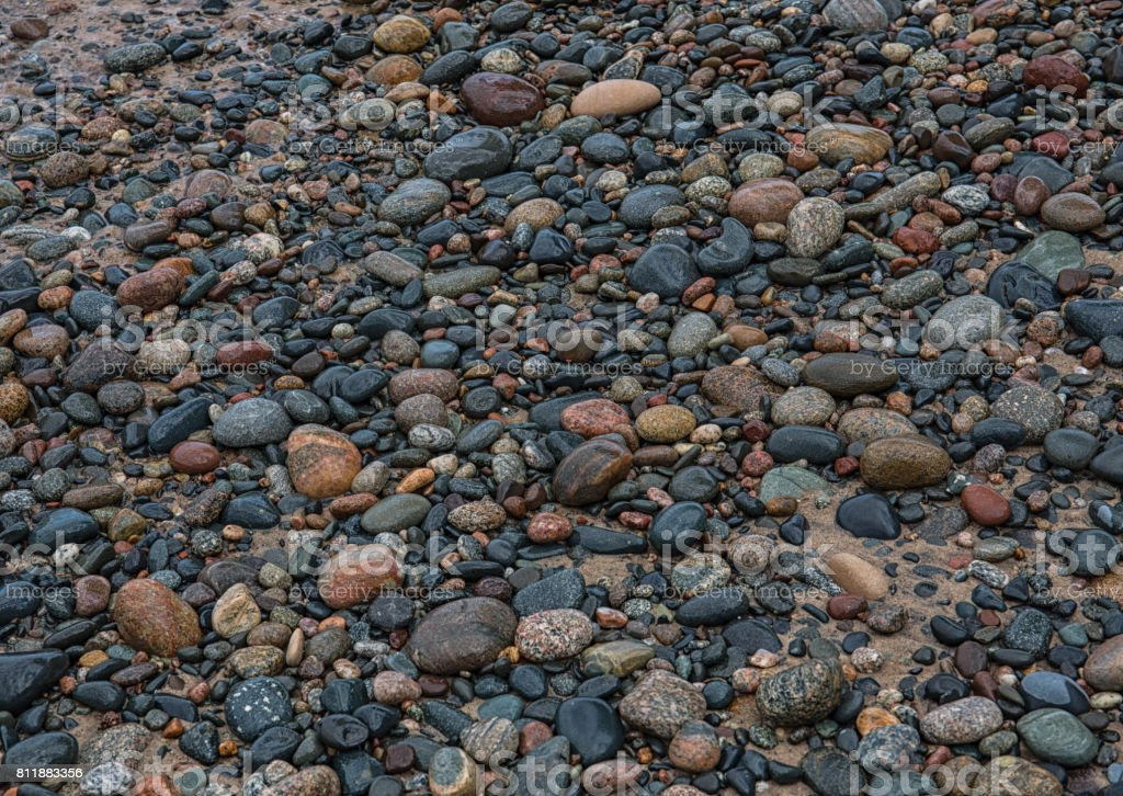 Lake Superior Shoreline stock photo