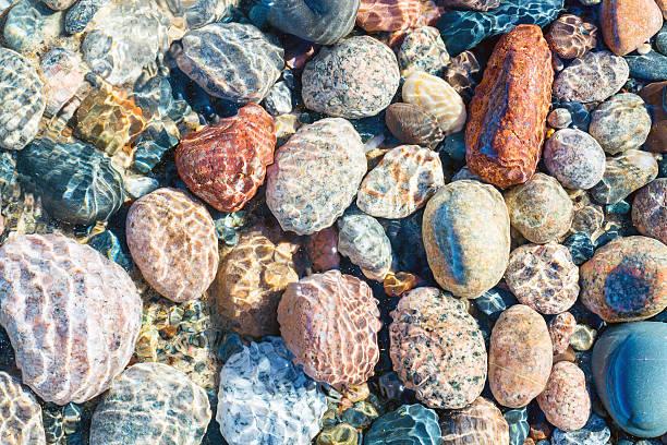 Lake Superior Stones at Whitefish Point
