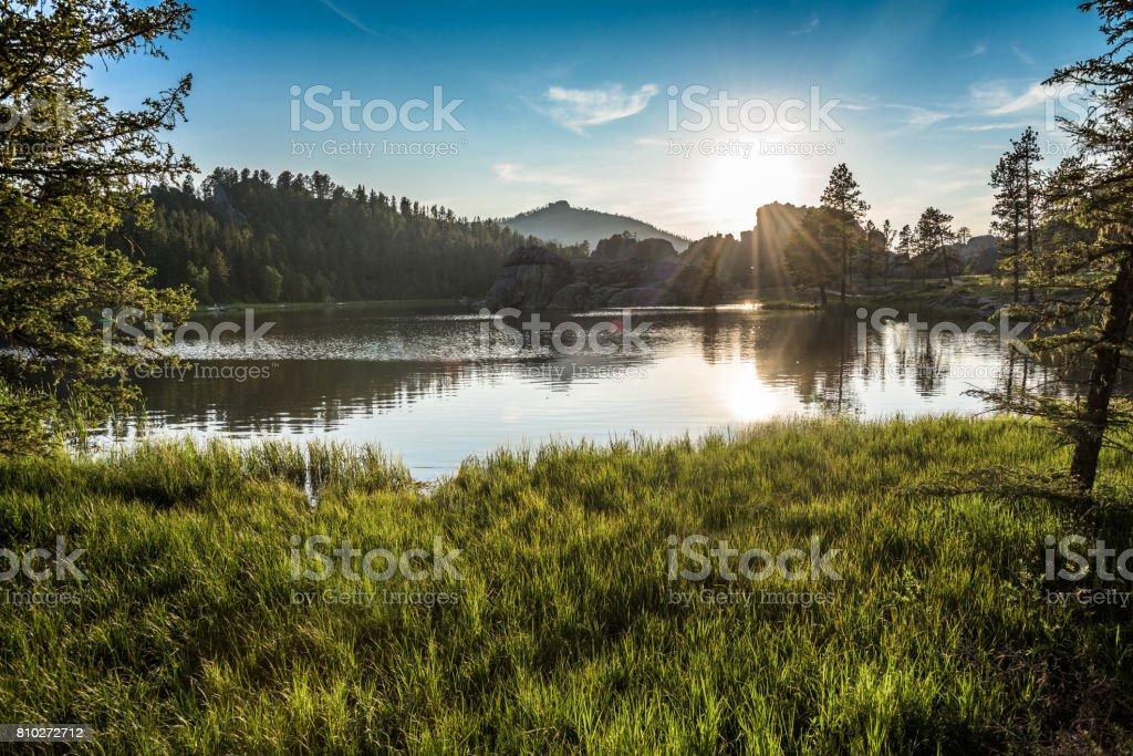 Lake Sylvan (Explored I) royalty-free stock photo