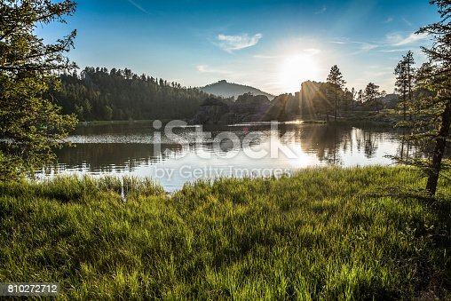 Lake Sylvan, Custer State Park, South Dakota
