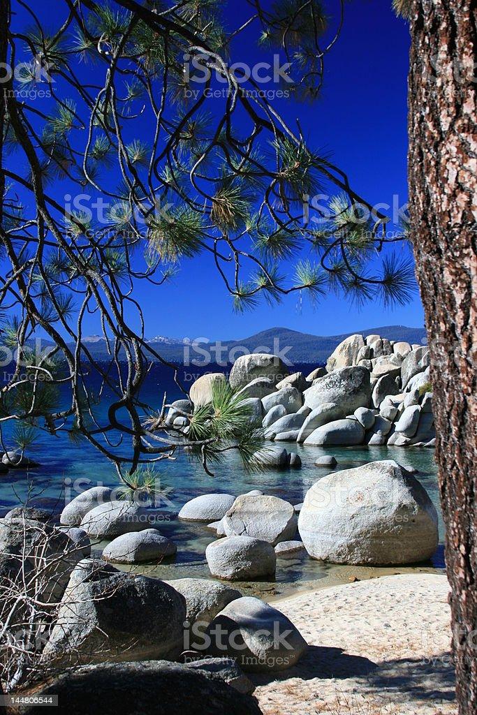 Lake Tahoe Landscape royalty-free stock photo