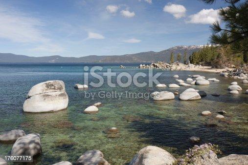 istock Lake Tahoe near Chimney Beach 176077175