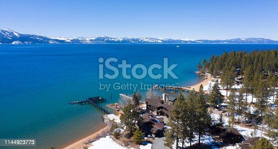 Lake Tahoe, Emerald Bay - Lake Tahoe, Lake, Snow, Winter