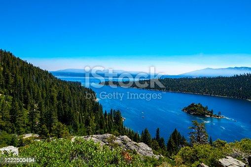 California Side of Lake Tahoe