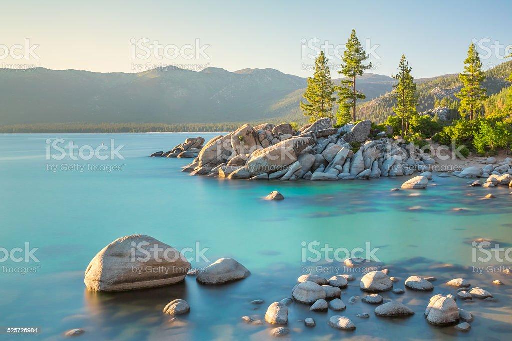 Lake Tahoe stock photo
