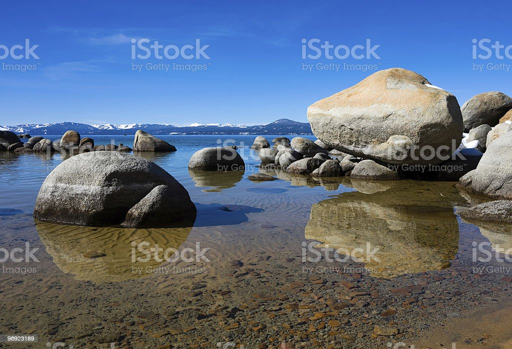 Lake Tahoe royalty-free stock photo
