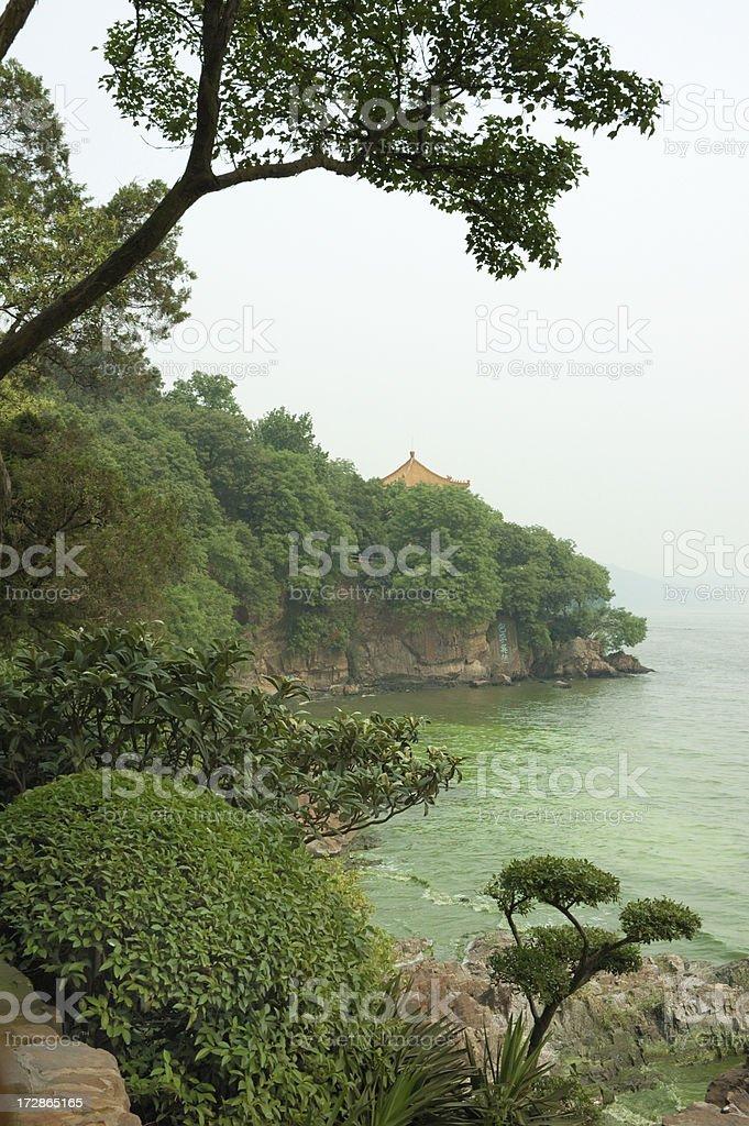 Lake Tai, China royalty-free stock photo