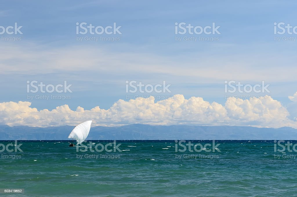Lake Tanganyika stock photo