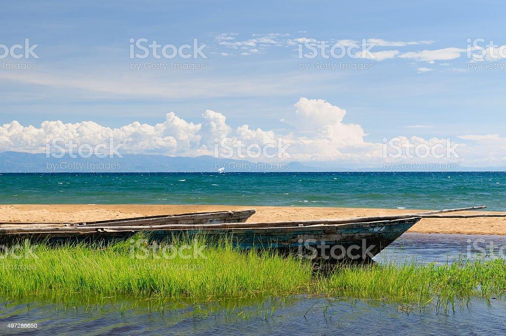 Lake Tanganyika, Tanzania stock photo