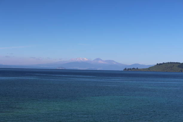 Lake Taupo in Neuseeland – Foto