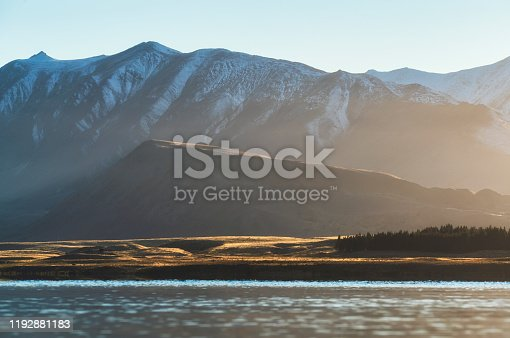 Lake Tekapo Aoraki Mount Cook New Zealand