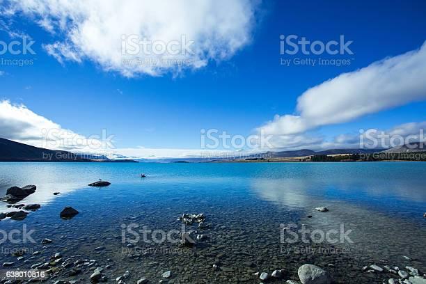 Photo of Lake Tekapo On A Shiny Day